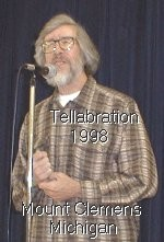 Richard Marsh at the Mount Clemens, Michigan, Tellabration 21 November 1998